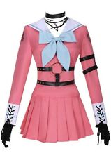 DanganRonpa V3 Killing Harmony Iruma Miu Cosplay Dress Costume Full Set Outfit