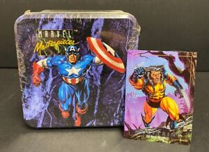 1993 Marvel Masterpiece Tin Set Sealed w/ Wolverine Promo Card