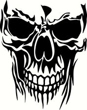 SKULL DIE CUT VINYL DECAL STICKER  WINDOW CAR TRUCK ATV UTV BUMPER 6in. punisher