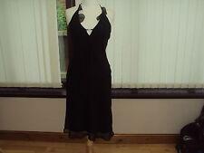 New Look Polyester Sleeveless Women's Halter Neck Dresses