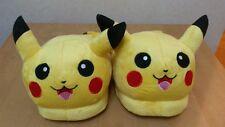 "New Pokemon Pocket Monster Cosplay Adult Plush Rave Shoes Slippers 11"" Pikachu"