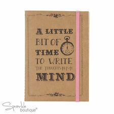 Style rétro A6 notebook-style vintage a statué jotter/bloc-notes-gamme complète en boutique!
