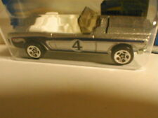 Hot Wheels 2002 #147 `65 MUSTANG Convertible silver w/blue  1965 Ford