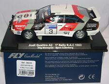 qq FLY 88245 AUDI QUATTRO A2 1º RALLY R.A.C. 1983  BLOMQUIST - CEDERBERG