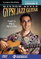 Learn to Play DJANGO STYLE Gypsy Jazz Guitar Book DVD 2