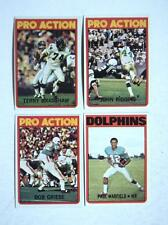 1972 Topps  #132 Bob Griese  Dolphins  MINT