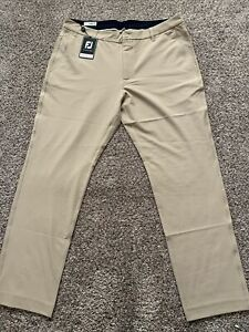 Mens Footjoy Tour Fit Khaki Pants Size 36x30