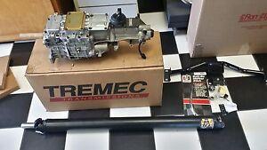 "1967-1969 Camaro/Firebird Tremec ""All New"" TKX 5 Speed Deluxe Kit"