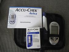 1 x Accu -Chek Aviva  Blutzuckermessgerät Set mg/dL dazu 1 x 50 Teststreifen