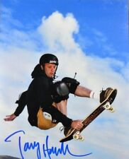 Tony Hawk Signed Photo 8X10 Skateboard Picture With Coa