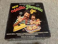 New Vintage MIRRO Watta Pizzaria Jr. Mini Counter Table Top Versatile Pizza Oven