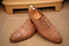 Paul Smith Homme rose pâle en cuir chaussures pointure UK 8