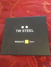 New TW Steel Watches Box Renault F1 Team (box and pillow) 148mm-133mm-108mm