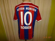"FC Bayern München Adidas Trikot 14/15 ""-T---"" + Nr.10 Robben Gr.176- S Neu"