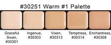 Graftobian HD Glamour Crème Foundations Palette, Warm #1
