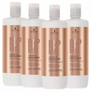 Schwarzkopf BLONDME Premium Developer Oxygen 2% - 6% - 9% -12% 1000ml/ 33.8 oz