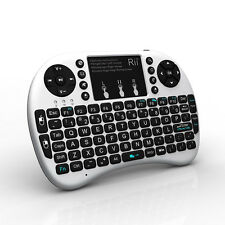 Rii mini i8+(white) wireless keyboard WITH BACK-LIT touchpad for smart TV/PC