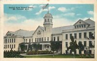 Mt Pleasant Michigan~Greenery & Flora~Central State Normal School~1919 Postcard