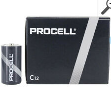 DURACELL C12 PROCELL Professional Alkaline Battery, 2 Boxes Of 12. Count Of 24
