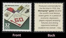 US 3185o Celebrate the Century 1930s The Monopoly Game 32c single MNH 1998