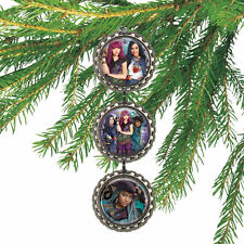 Disney Descendants MAL EVIE & UMA 3D Bottle Cap Christmas Ornament #108