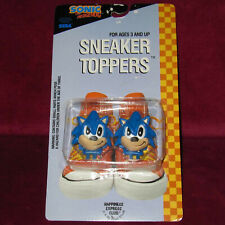 SONIC THE HEDGEHOG 1993 SNEAKER TOPPERS SEALED! NEW OLD STOCK, CLASSIC SEGA USA