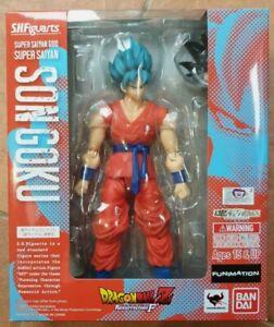 Bandai Tamashii SH Figuarts Goku Super Saiyan God Blue Dragon Ball Z