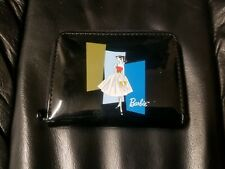 BARBIE REPRODUCTION BLACK WALLET NICE! FREE SHIPPING