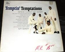 THE TEMPTATIONS Temptin LP ORIGINAL UK TAMLA STEREO STML-11023