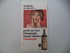 advertising Pubblicità 1967 CHINA MARTINI e MARINA MALFATTI