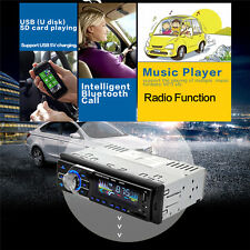 HD 1080P 1Din Digital LCD Bluetooth Hands Free Touch Screen Car Radio MP3 Player
