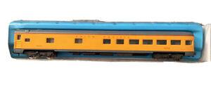 N scale ATLAS 2632 UNION PACIFIC  85' illuminated Passenger Car # 9052