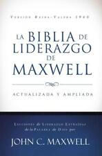 LA BIBLIA DE LIDERAZGO DE MAXWELL / THE MAXWELL LEADERSHIP BIBLE - MAXWELL, JOHN