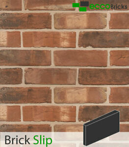 Handmade Brick Slips Tiles  %100 Natural Bricks - Antique Victorian Farmhouse