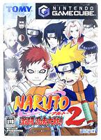[JAP] Naruto Gekitou Ninja Taisen 2 - Nintendo Gamecube - NTSC-J JAP