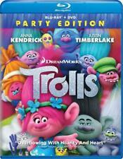Trolls (Blu-ray Disc, 2017, 2-Disc Set / DIGITAL) NEW