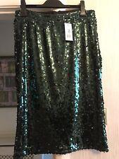 Sequin Emerald Green Skirt 16