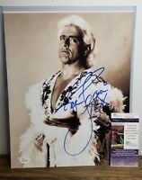 Ric Flair Photo Signed Photo 11X14 WWE Nature Boy Wrestling JSA COA