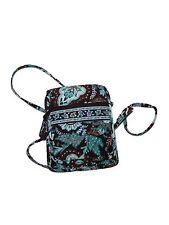 Vera Bradley Mini Hipster Java Blue Cross Body Purse Bag