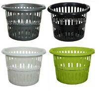 48 CM Large Plastic washing Up Laundry Basket Bin Clothes Storage Tidy Hamper