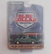 1/64 Greenlight  1968 Chevrolet C-10 Green with Ladder