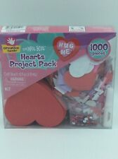 Creative Hands 1000 Piece Value Pack-Arts/Crafts–Hearts Project Pack- Valentines