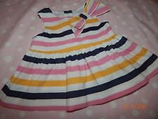 Janie and Jack Girls 3-6 Months Classic Garden Blouse Top Pretty Bow