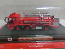 Feuerwehr Del Prado 1:72 1980 Fourgon Pompe Berliet Tonne 770KB France(102/16)