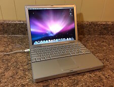 "Apple 12"" PowerBook G4 1.5GHz - Best CPU, w/128GB SSD & 320GB HDD, Max RAM - #5"