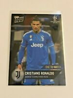 2020 Topps Now Champions League One to Watch - Cristiano Ronaldo - Juventus FC