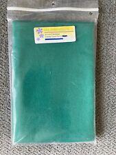 22 Ct Count Hardanger Cross Stitch Fabric Fat Half Emerald Green