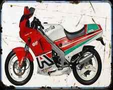 Aprilia Af1 125 Sintesi Sport A4 Metal Sign Motorbike Vintage Aged