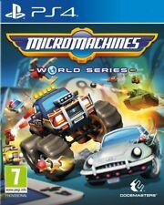 MICROMACHINES : WORLD SERIES JEU PS4 NEUF