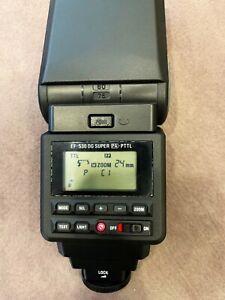SIGMA External Flash EF-530 DG SUPER for Pentax - Excellent